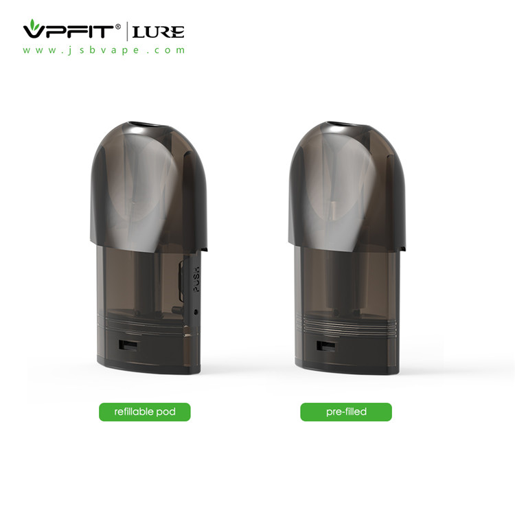 Refillable and Pre-filled pod for Lure