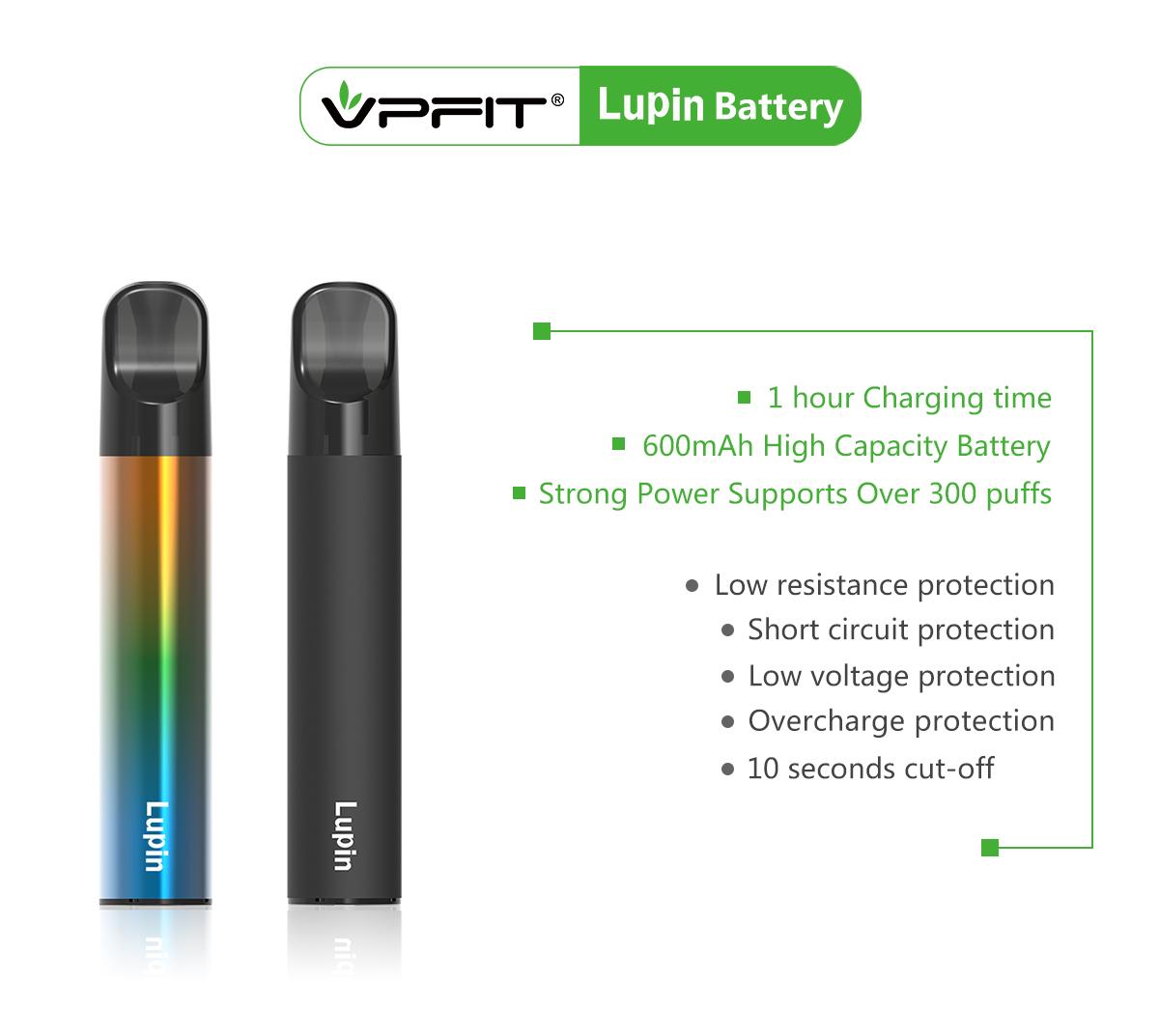 600mAh batter of Lupin